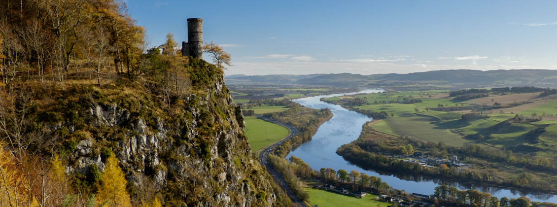 A Walk Up Kinnoull Hill in Perth